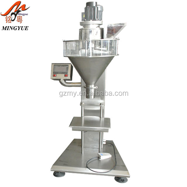 China Suppliers Semi Automatic Auger Dosing Powder Filling Machine 100-1000g