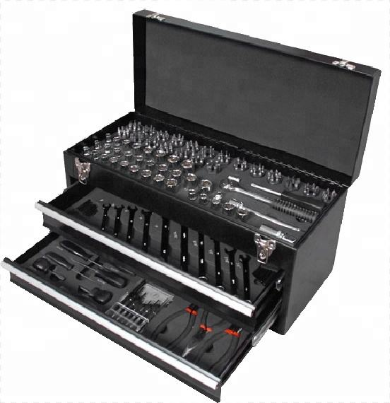 236pcs Professional Hand Tools Socket Bit Set Chrome vanadium Metal Case Set