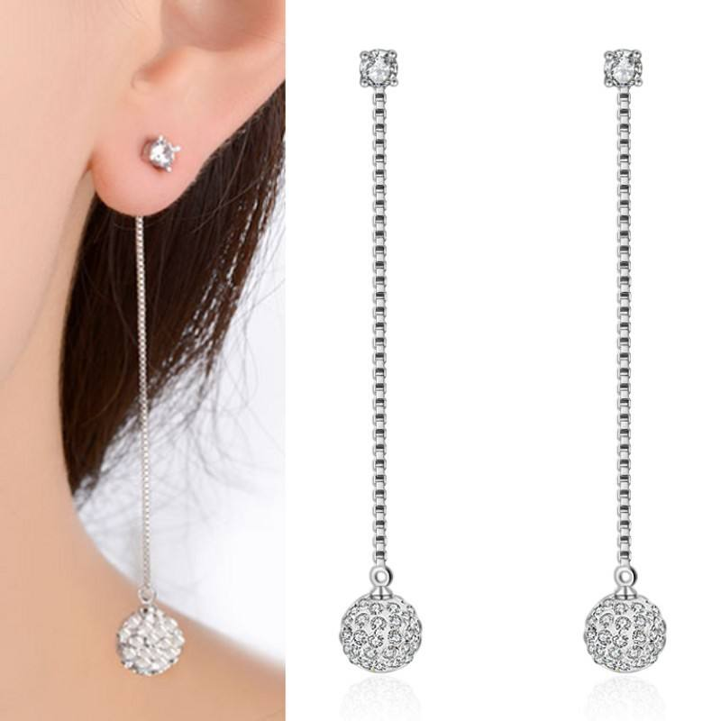 Fashion crystal drop earrings for women wholesales N800273