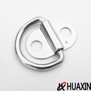 Top Quality Stainless Steel SS304/316 Folding Pad Eye Trailer Lashing Ring