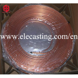 Copper air conditioning duct production line