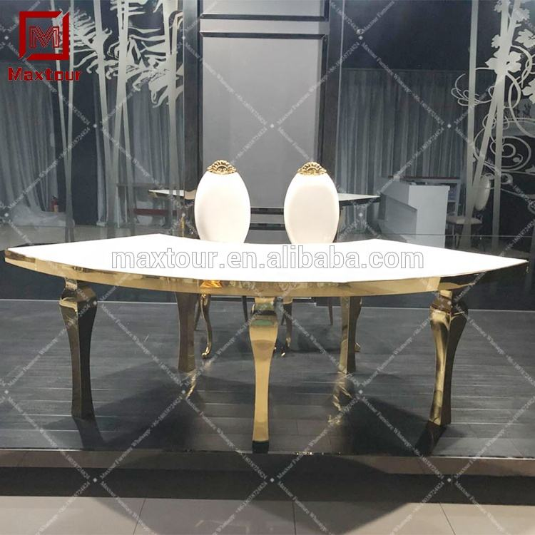 Featured Wedding Bride and Groom Fan-shape Wedding Theme Tables