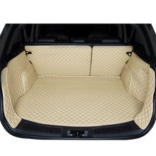 Customized leather 5d car trunk mats price