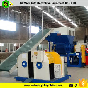 Chinese most popular machine tire recycling to rubber granules