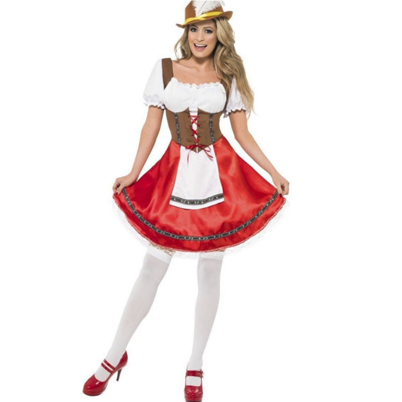 Nice Good Quality In Stock Sexy Women Oktoberfest Wench Cosplay Costumes