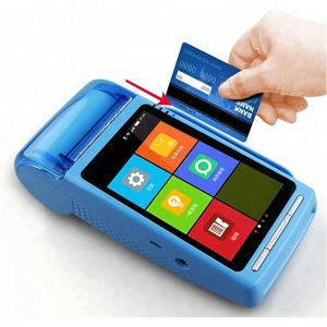 Sistem Pos dengan Printer USB Bluetooth Barcode Printer Saham Document Printer POS Sistem Android TFT Mesin POS Harga MPOS