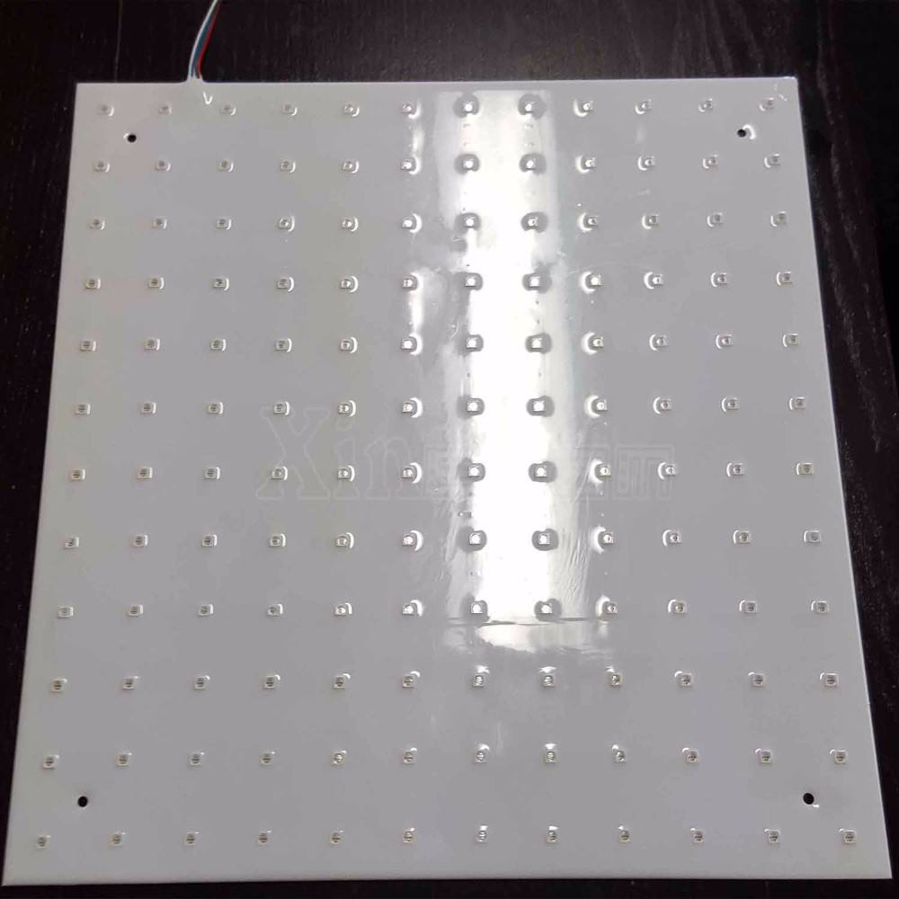 Iklan Lampu Latar Papan 12 V RGB LED Panel IP67 500X500