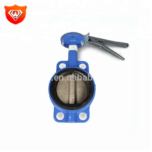 Medium Pressure Cast Iron Pneumatic Operated Lug Butterfly Valve