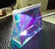 2019 Promotion Holographic PVC Transparent Cosmetic Bag for Packaging