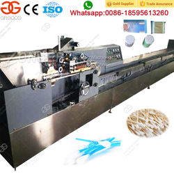 Hot Selling Manufacturer Alcohol Cotton Ear Buds Production Line Cotton Swab Making Machine Price