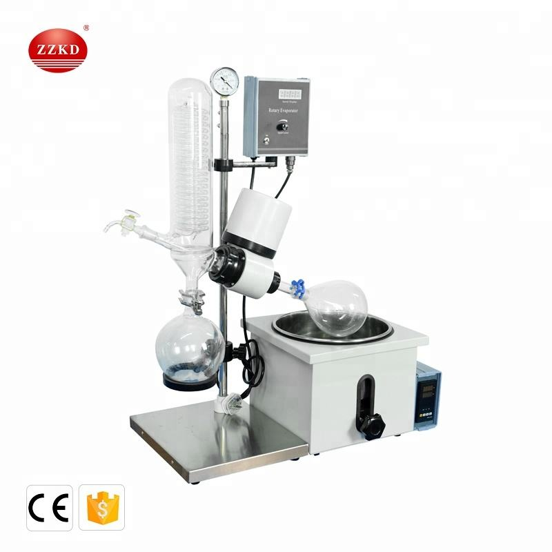 RE-201D Harga Industri Mini Vacuum Rotary Evaporator