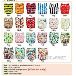 Alva Reusable Suede Cloth Diaper