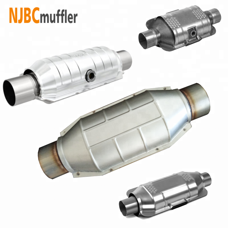 Spinning three-way catalytic converter universal meet Euro V emission OBD standard customizable