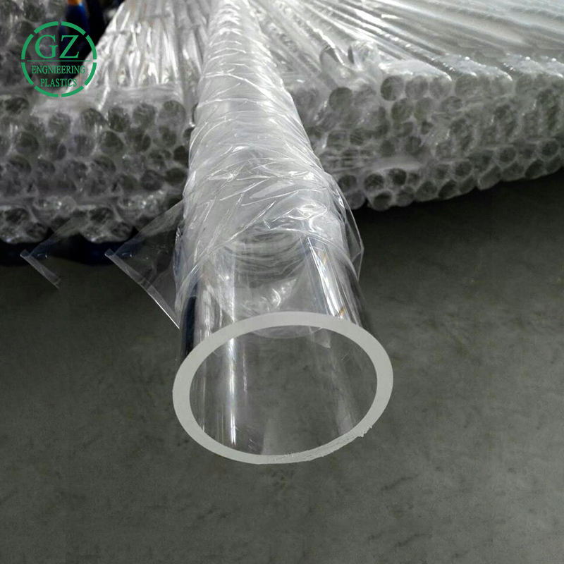 Hot sale Engineering Plastic large diameter cast clear Acrylic Tube