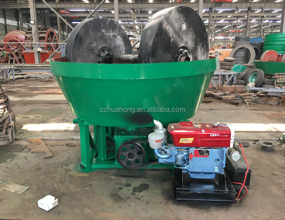 1100 type Gold Wet Pan Mill Grinding for sale /gold stone grinding mills