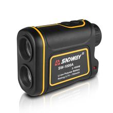 Telescope Laser Rangefinder 1000m Laser Distance Meter 7X Monocular Golf hunting Measuring Distance Speed Angle Height in one