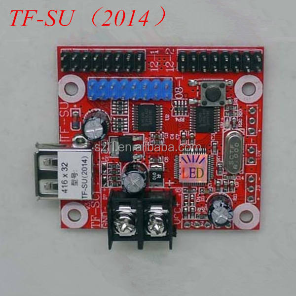 Tf-su 2014 controlekaart voor p10 led display