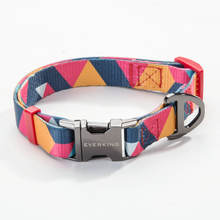 Soft Dog Training Collar Dog Collar Buckle Metal Retractable Pet Collar