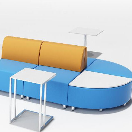 B0002 Combination School public area color optional sofa seating