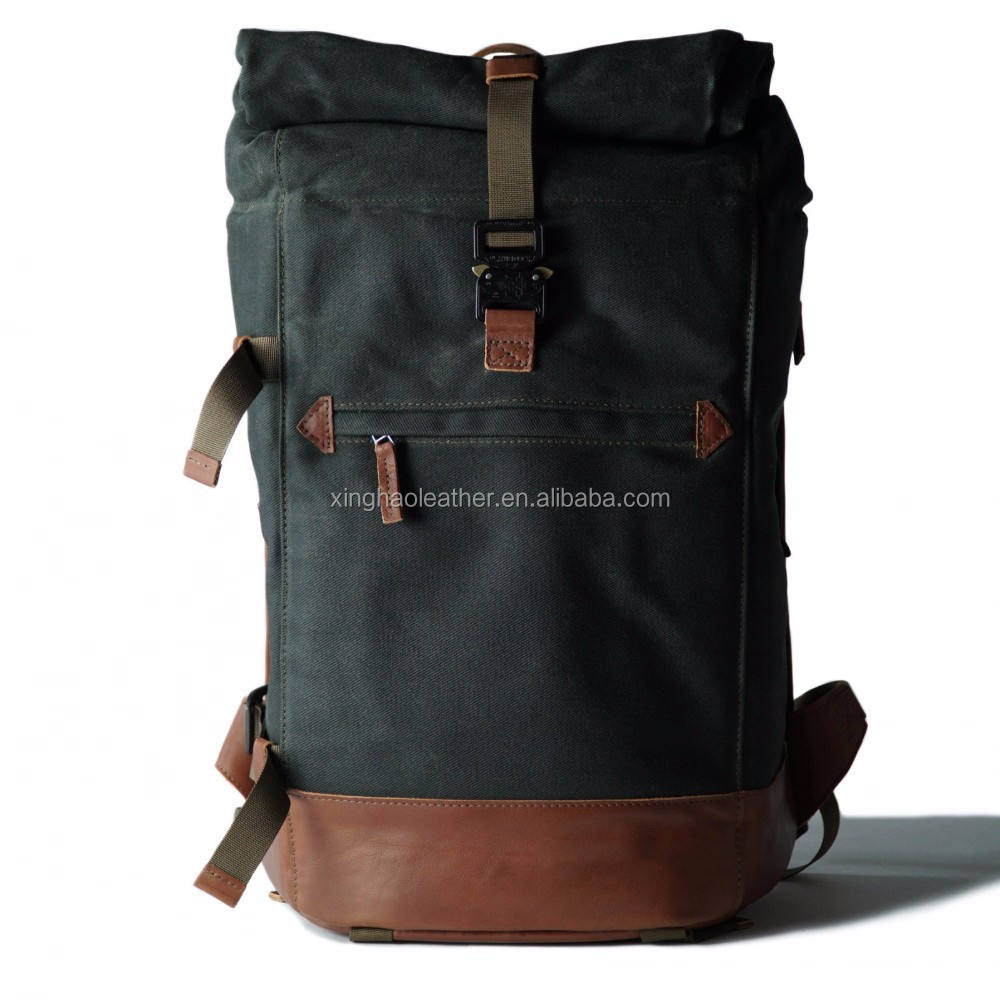 wholesale sports backpack laptop leather school backpack canvas travel backpack