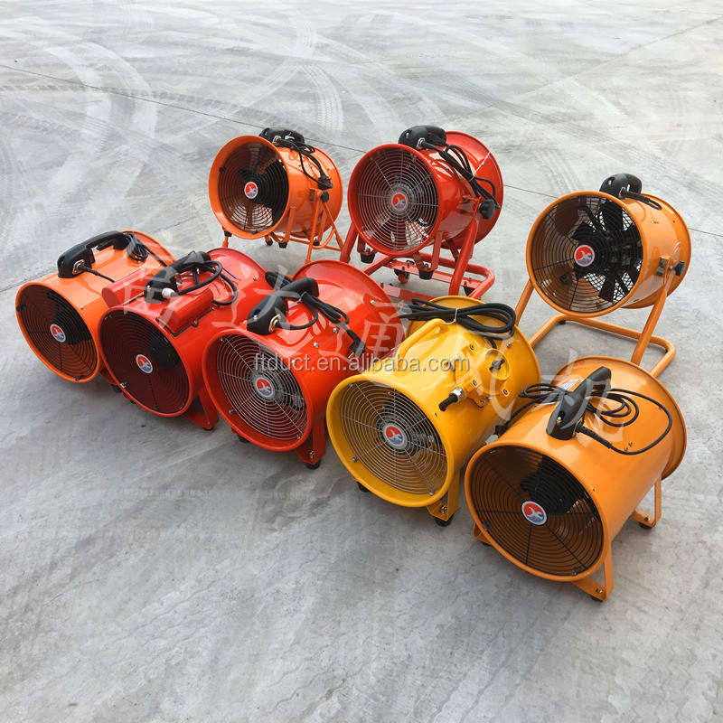 draught fan and axial blower