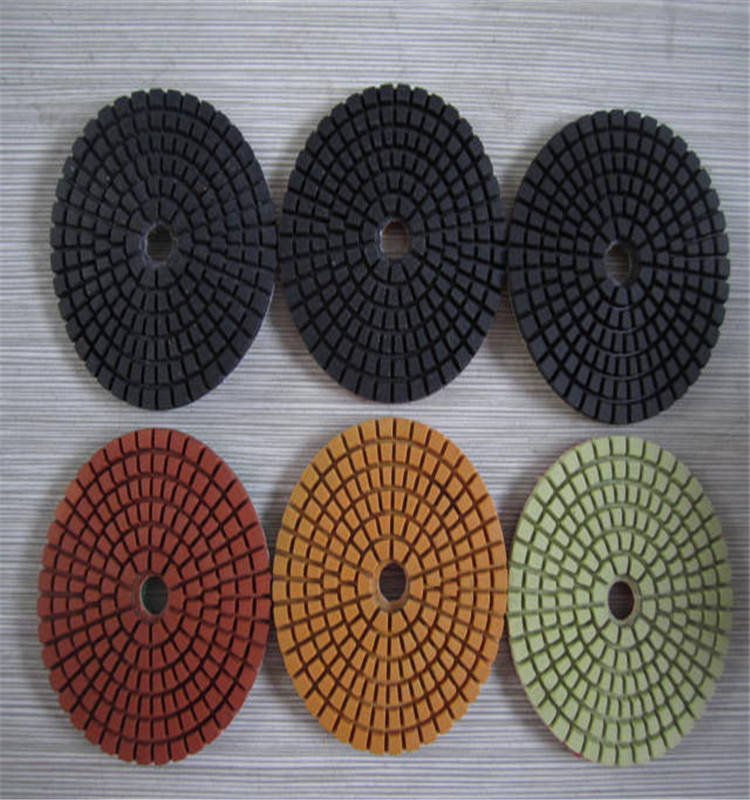 3 Inch Batu Marmer Granit Diamond Wet Polishing Pads