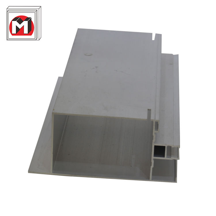 Низкая цена, высокое качество закаленное стекло алюминиевый площади трубки занавес стены профиля