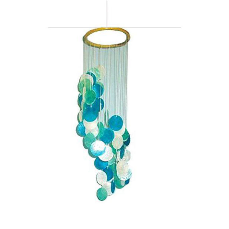 Hersteller Direct New Design Große Outdoor Sea shell Windspiele