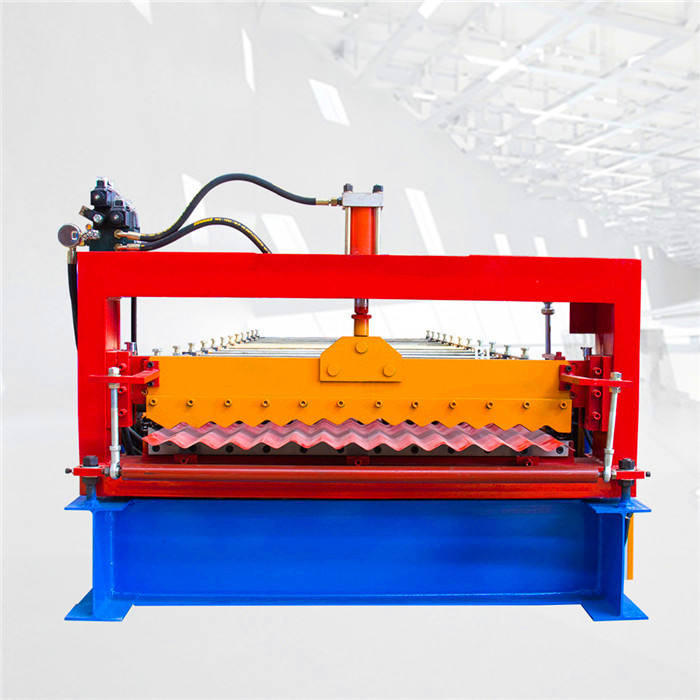 DX corrugated roll forming machine