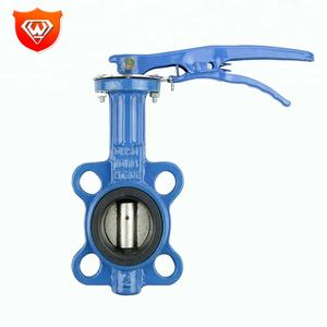 High Performance Wafer Type Butterfly Valve Dn40