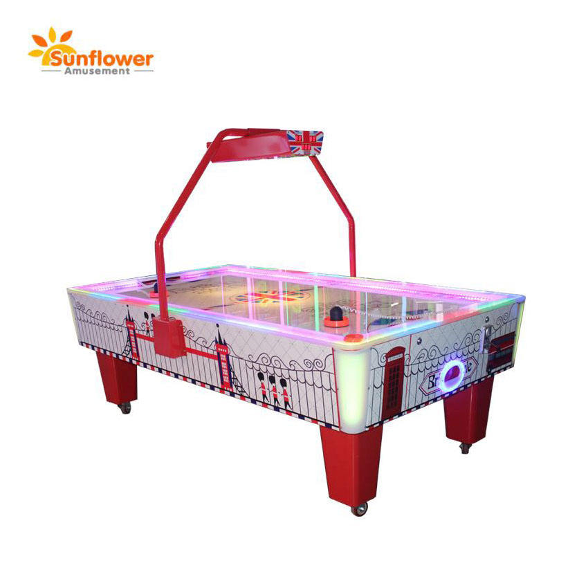 Amusement machine classic sport air hockey,electronic air hockey score game machine for sale