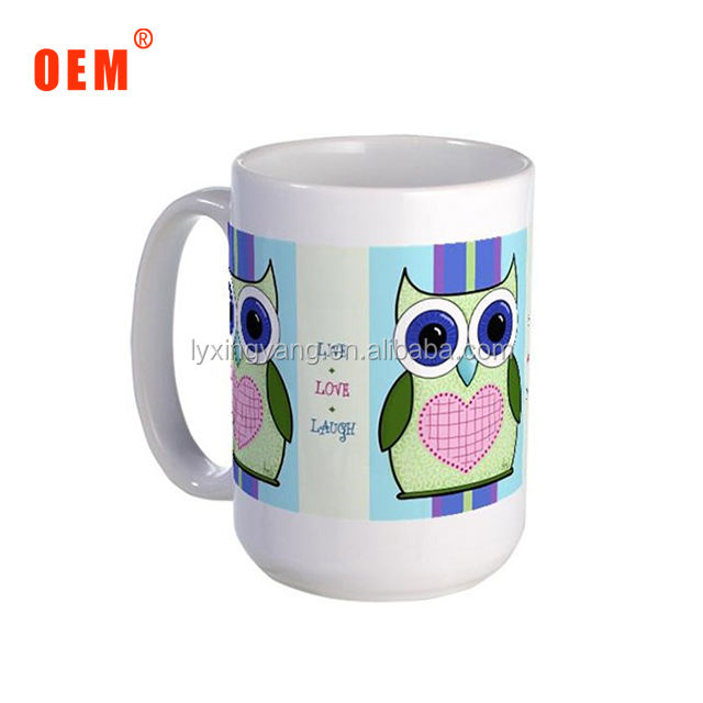 Zibo factory image mug porcelain/nice printing photo mug machine