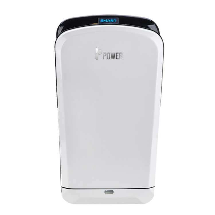 POWER airblade automatic electric LED jet air toilet hand dryer China with tray low cost