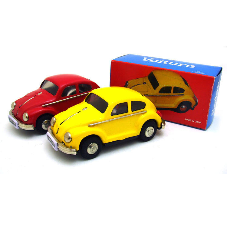 Tin Metal antique metal model beetle car models pull back toys for collection vintage tin toys