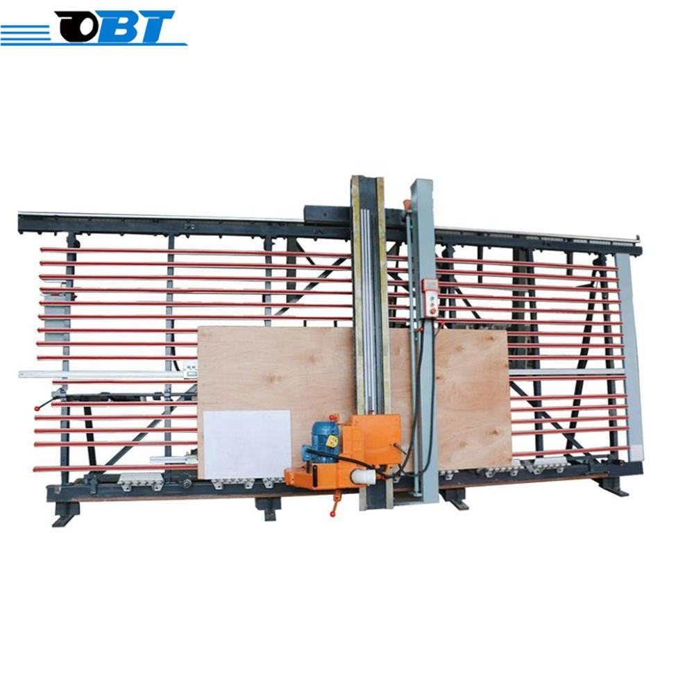 China automatic cutting and grooving machine wood vertical panel saw for mdf board
