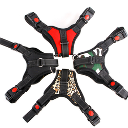 Hot Selling Dog Harness Adjustable  Pet Vest Harnesses with Handle Safety Dog Chest Strap