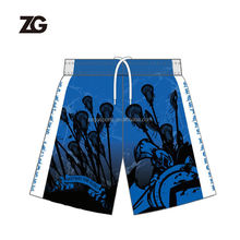 Custom Sublimation Lacrosse Short With No MOQ
