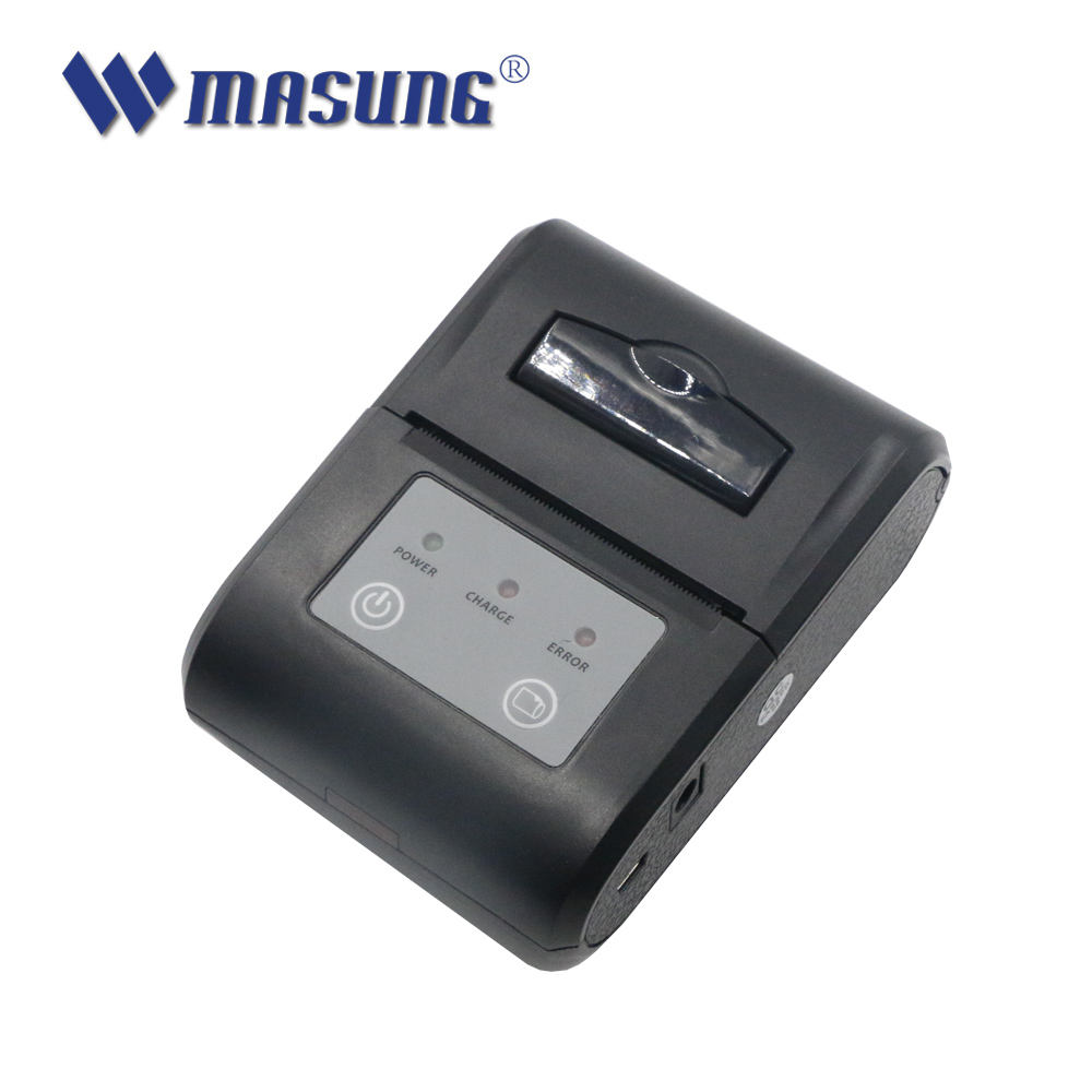 58mm bluetooth Thermische printer SDK, QR code barcode android