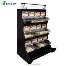 Store And Supermarket Display Rack For Put Use With Food Dispenser