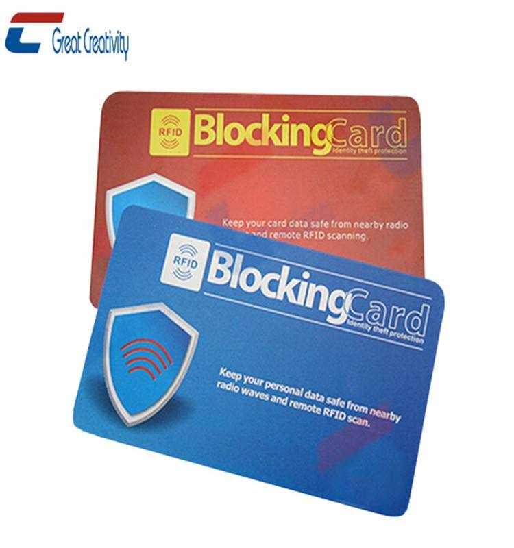 Plastic ID Card Protector for Sim Cards / RFID Cards
