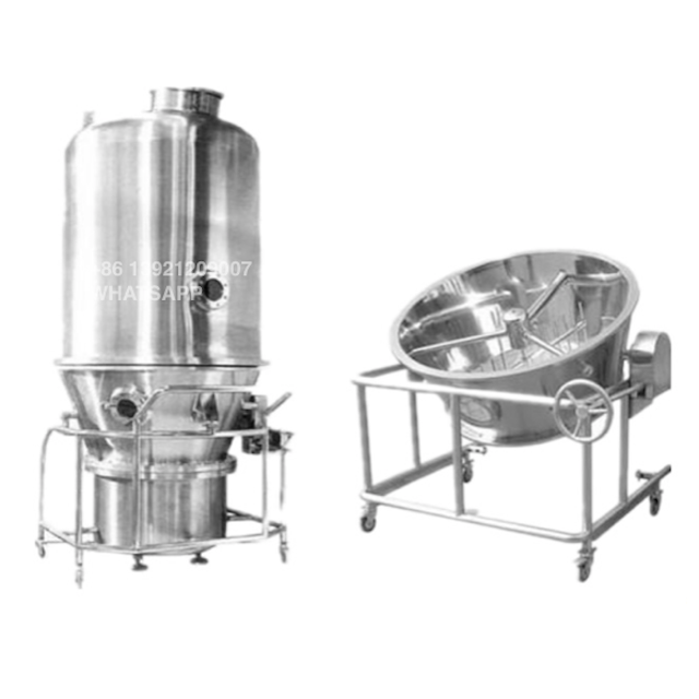 VIDEO! GFG Particle Powder Granule Fluid Fluidized Bed Mixer Dryer Drying Machine