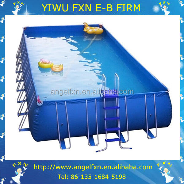 Inflatable swimming pool cover/swimming pool designs