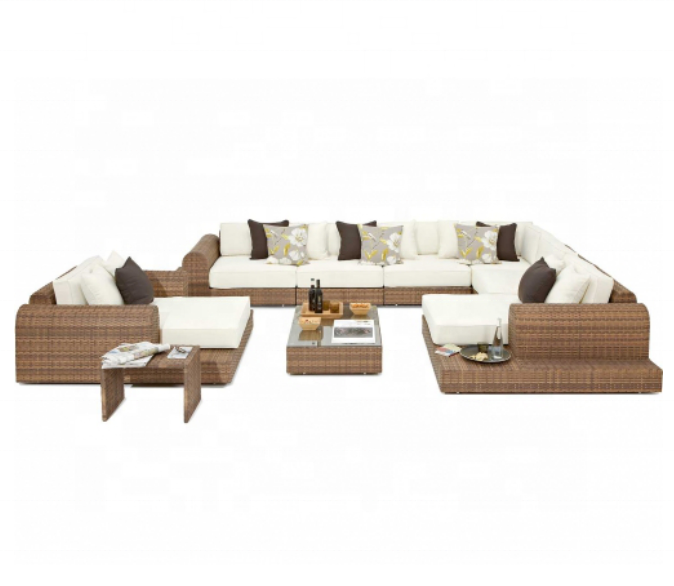 Trade Assurance Hot Sale Exclusive Outdoor Poly Rattan patio furniture