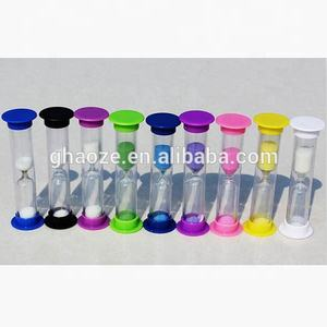Plastic 60 Second Sand Timer Hourglass 1 Minute Sand Timer Factory