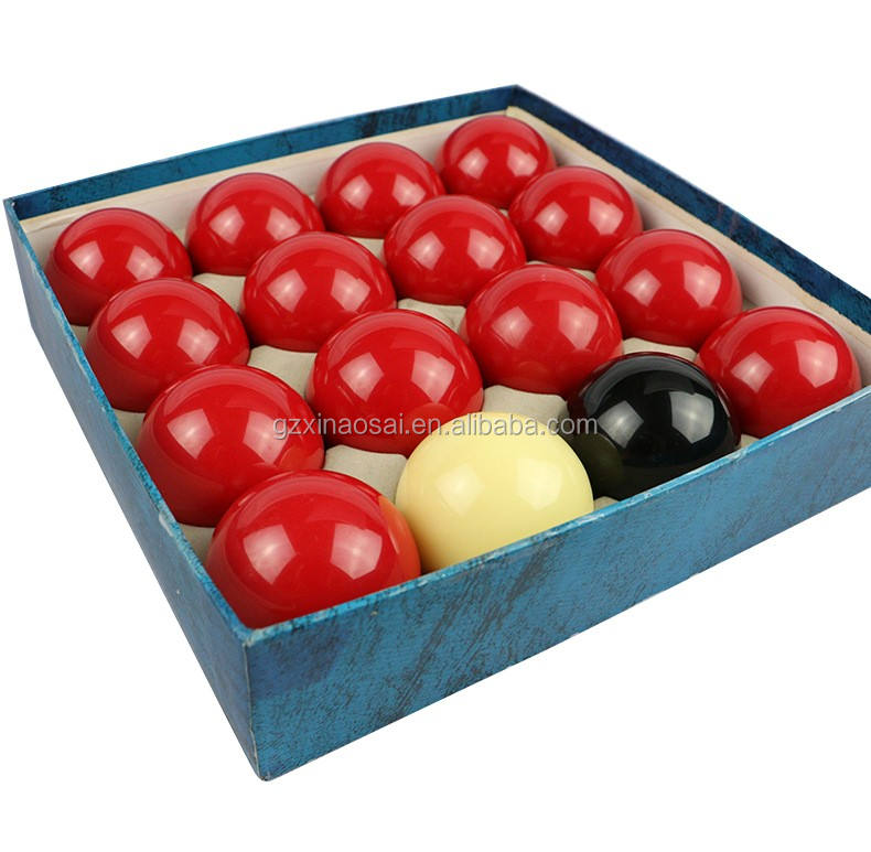 "Whosale 2""1/4 Resin Snooker Pool Billiard Balls"