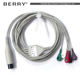 medical hp ge One-Piece ecg cable 5 lead in hospital operating room