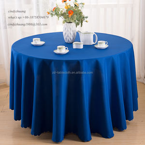 Factory Cheap 132 Round Royal Blue Wedding Table Linens