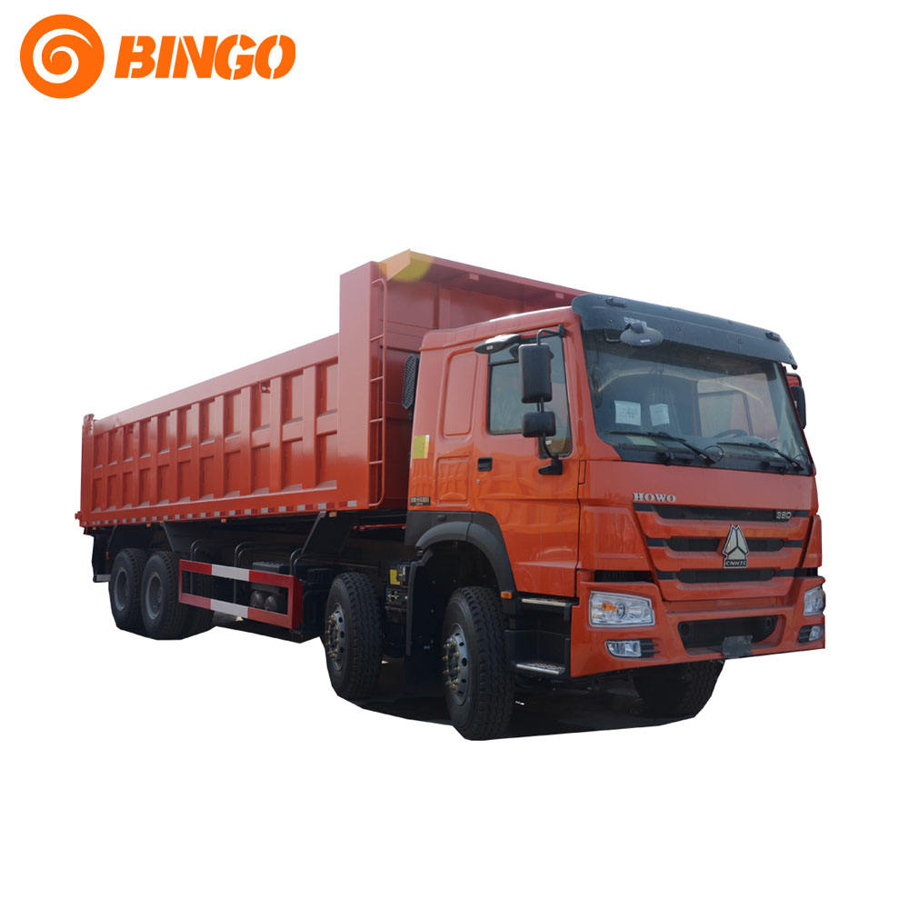 China heavy sinotruk howo 8x4 dump truck 371hp tipper truck