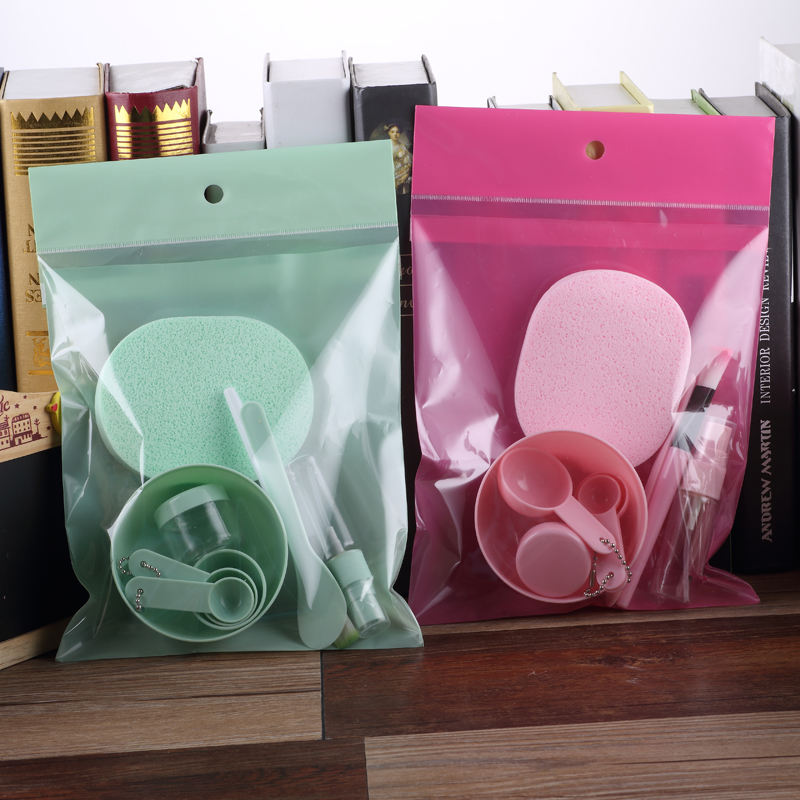 mask bowl set 9-in-1 mask bowl mixing rod metering spoon cream box spray bottle mask brush face sponge advanced packaging bag