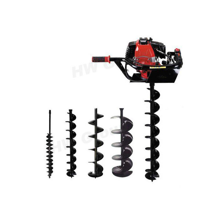auger drill bit ground drill bit digging machine earth drill small hand soil auger